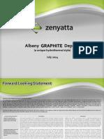 Zenyatta Albany Graphite Deposit 2014