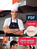 Brochure Cocina