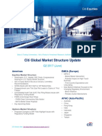 Citi Global Market Structure Update - q2 2017 (Approved for Clients)