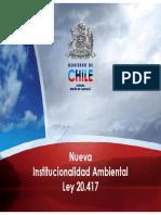 Nva Institucionalidad Ambiental Ley 20417 XCancino