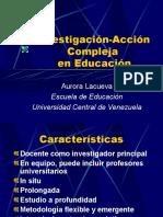 Investigación-Acción Compleja en Educación