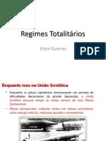 Os Totalitarismos
