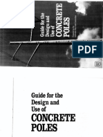 ASCE 1987 Guide for the Design and Use of Concrete Poles