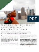 Nadira  Norjahan News Letter
