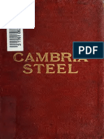 Cambria Steel Hand 00 Cam Bu of t
