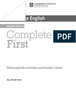 Photocopiable Activities and Teacher's Notes
