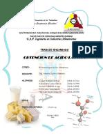 Obtencion de Acido Lactico Grupo