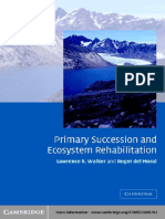 Primary Succession and Ecology Rehabilitation