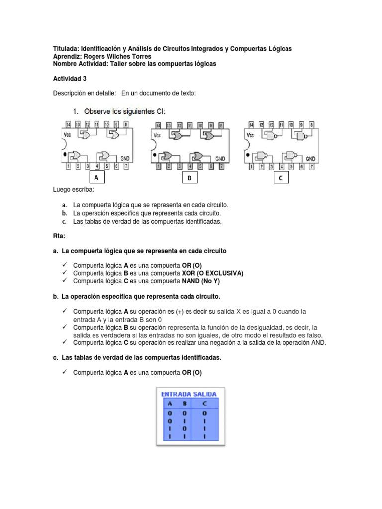 Circuito And : Actividad 03