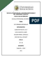 Ley Organica Essalud