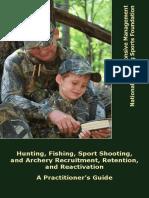 NSSF & Responsive Management Release Handbook to Increase Outdoor Recreation