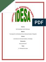Tarea 3.- Planeación de Clase (Tecnología en La Enseñanza de Las Ciencias Sociales i Geografía)