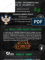 La radio como recurso educativo