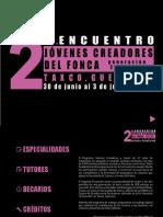 CATÁLOGO DIGITAL JÓVENES CREADORES 2015-2016