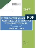 MODELO DEL PLAN DE ACOMPAÑAMIENTO Y MONITOREO MODELO