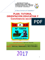 Plan Tutoria 2017 Ie 10054
