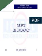 Grupos Electrogenos Icetel 2010