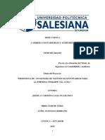 Tesis Ecuador Control de Inventarios