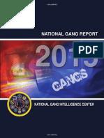 National Gang Report 2015