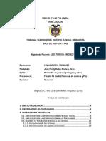Sentencia DUJTL 10016000253200883617 Jhon Fredy Rubio y Otros Julio 3 de 2015 2