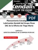 Planeamiento Estratégico de Lubricantes Kendall Del Grupo Picon 1