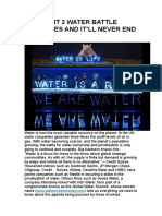 The Right 2 Water Battle Continues and It'Ll Never End