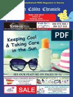 Costa Cálida Chronicle's monthly magazine July 2017