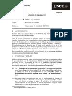 032-16 - Pre - Taryet s.l. en Peru - Resolucion Del Contrato
