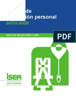 Personal Fall Protection Equipment Guide ISEA Spanish