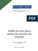 Tese Gerontes e Risco PDF Davidaraujo