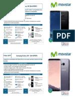 Ficha SSTT - Samsung Galaxy S8 y S8+