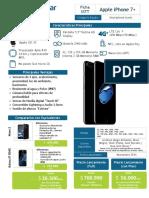Ficha SSTT - Apple iPhone 7PLUS
