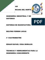 Herramientas y Tecnicas de La Ingenieria Concurrente