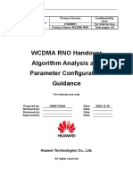 1.WCDMA RNO Handover Algorithm Analysis and Parameter Configurtaion Guidance-20050316