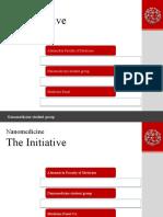 Nano Medicine ,The Intitiative