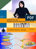 SURPASS HiG1600 Access External