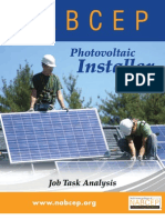 2010 NABCEP PV Installer Job Task Analysis Low Res