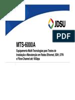 03 Mts-6000a Port Sdh