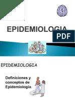 1. Concepto, Definición Epidemiologia 1