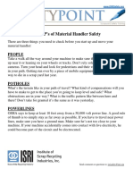 The 3 Ps of Material Handler Safety