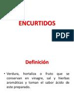 ENCURTIDOS