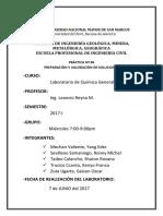 Informe 06 Listo - Laboratorio de Química