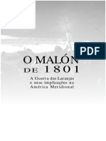 CAMARGO, Fernando. O Malon de 1801