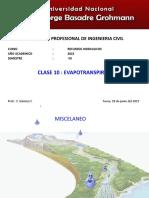 Clase10evapotranspiracion 151115001557 Lva1 App6891