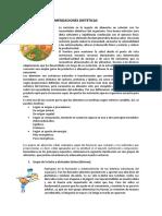 Alimentos y Recomendaciones Dieteticas Estudiar