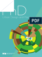 PhD Urban Design and Planning