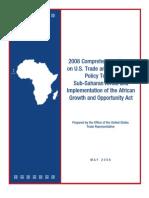 Comprehensive U.S. Chamber of Commerce, Africa Report