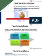 Ingeniería Económica y Finanzas Sesión 2