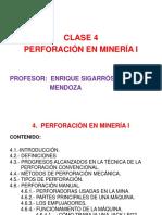 Clase 4 Perforación en Minería i