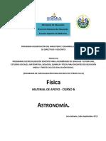 Material de Apoyo Astronomia